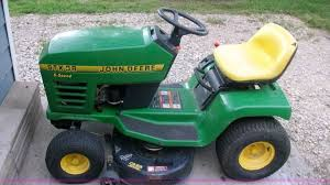 john deere stx38 lawn mower item b1335 sold june 13 mid