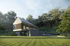 Forest Render Exterior Forest House In The Style Of Constructionism By User петр