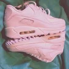 light pink nike air max shoes nike air max 90 air max rose nike air max pink sneakers light