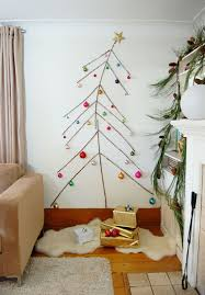 Ideas For Christmas Tree On The Wall by 15 Non Traditional Christmas Tree Ideas