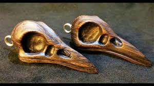 cool wood carvings carve a really cool s skull necklace pendant