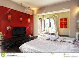 modele de chambre a coucher moderne intérieur d une chambre à coucher moderne image stock image