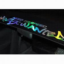 2017 new laser reflective letters auto car front window windshield