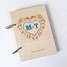 haart with ocean style rustic wedding guest book nautical custom
