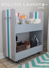 Laundry Room Cart - organize this laundry supplies the homes i have made