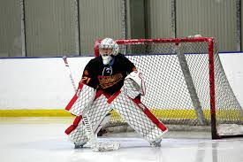 a deep dive into goalies wearing pads that look like the net and