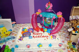 Ariel Birthday Cake For Children U0027s Party U2014 Wow Pictures