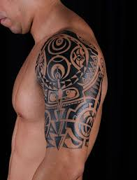 Great Shoulder - tattoos for maori shoulder and