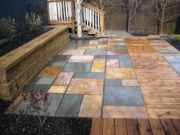 garden u0026 landscaping diy concept for stone patio ideas