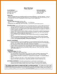 No Job Experience Resume Sample 10 Resume Template For No Experience Budget Reporting