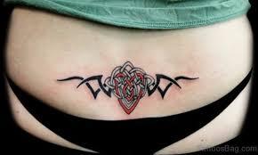 65 elegant tribal tattoos for waist