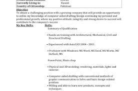 Civil Draughtsman Resume Sample by Draughtsman Civil Resume Sample