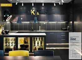 cuisine noir et jaune cuisine ikea plataformaecuador org
