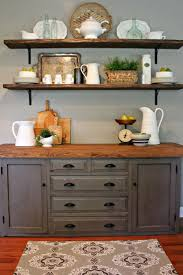 Open Shelves Under Cabinets Best 25 Kitchen Shelf Decor Ideas On Pinterest Kitchen Shelves
