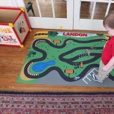 race track playmat