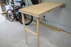 Diy Murphy Desk by Turtles And Tails Fold Up Garage Worktable