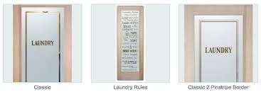 Laundry Room Border - laundry room doors sans soucie art glass