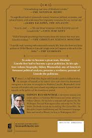 a self made man book by sidney blumenthal official publisher