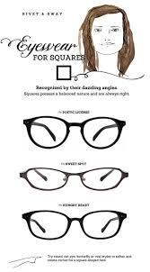 glasses frames for square face shape eyeglasses for square or