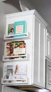 kitchen cabinet end ideas cookbook cabinet end shelves homebnc