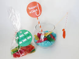 fish valentines you are a catch candy fish bowl by is the party