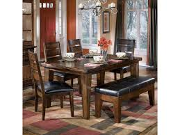 ashley dining room sets signature design by ashley larchmont rectangular dining table 4