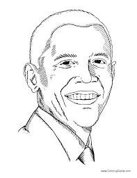 barack obama coloring page getcoloringpages com