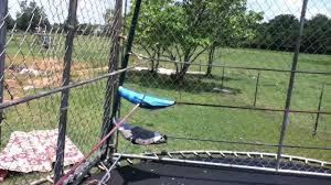 backyard wrestling on trampoline outdoor furniture design and ideas