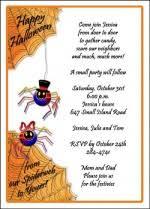 kids halloween games included in halloween invitations