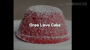 oreo red velvet lava cake youtube