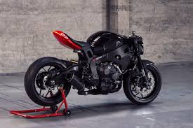 best honda cbr channelling tron the ultimate café fighter kit bike exif