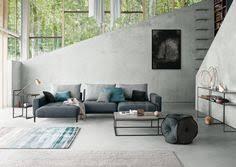 graue wohnzimmer fliesen modern grau apartment junge familie wohzimmer sofas interior
