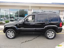 2006 black jeep liberty black clearcoat 2004 jeep liberty limited 4x4 exterior photo