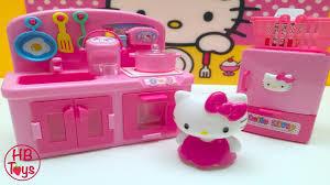 Toy Kitchen Set For Boys Hello Kitty Kitchen Hello Kitty Toys Toy Kitchen Set Miniature