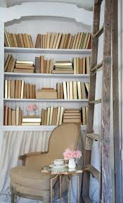 White Cottage Bookcase by How To Style Shelves French Country Cottage