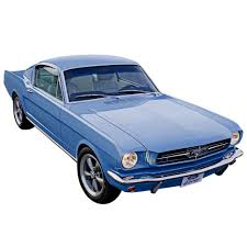 mustang fastback roof mustang roof graphics roof panel decal black