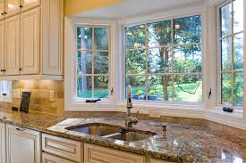 does kitchen sink need to be window give your kitchen character add a bay window
