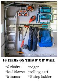 how to organize your garage in 5 simple steps postcards from the