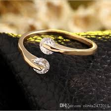 rings simple design images New simple design women small gifts silver alloy plated adjustable jpg