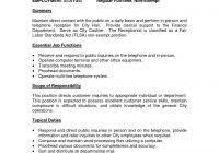 8 job description template questionnaire template throughout