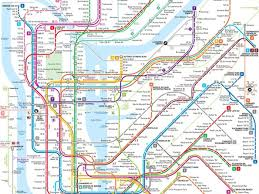 Mya Map This New Nyc Subway Map May Be The Clearest One Yet Curbed Ny