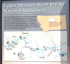 missouri breaks map missouri breaks interpretive center photo diary