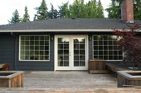 100 gray house yellow door exterior paint option sherwin