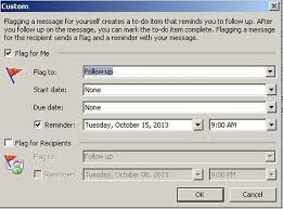 follow up email after resume submission quick tip add a follow up reminder to an email message techrepublic