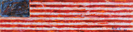 David Hammons African American Flag Nabil Mousa Arab American National Museum