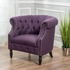 purple accent chairs birch lane