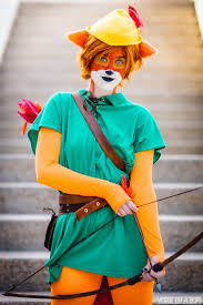disney u0027s classic animated robin hood gets live action cosplay