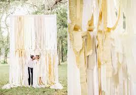 wedding backdrop outdoor diy crepe paper summer wedding ideas 100 layer cake