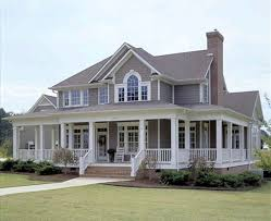 one story house plans with porches baby nursery house with veranda all around one story house plans