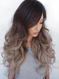 silver brown hair human hair wigs 22 dark brown to silver ombre lace front wigs